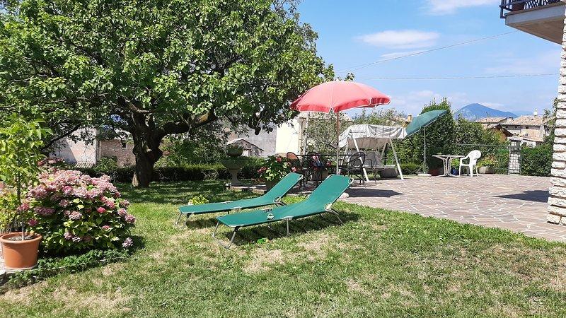 Virgilio Zanetti - Appartamento con 2 camere, piano terra, terrazza e giardino, casa vacanza a Pai