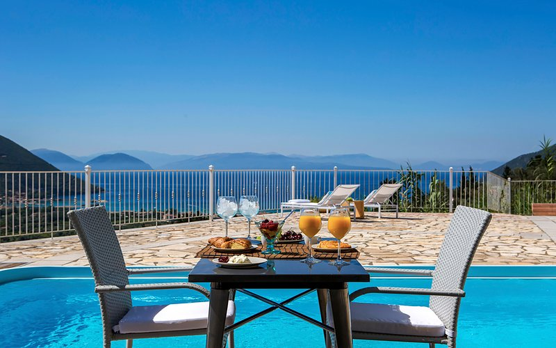 Villa Kathisma In Vasiliki, Lefkada With Private Pool-Adults Only, holiday rental in Dragano