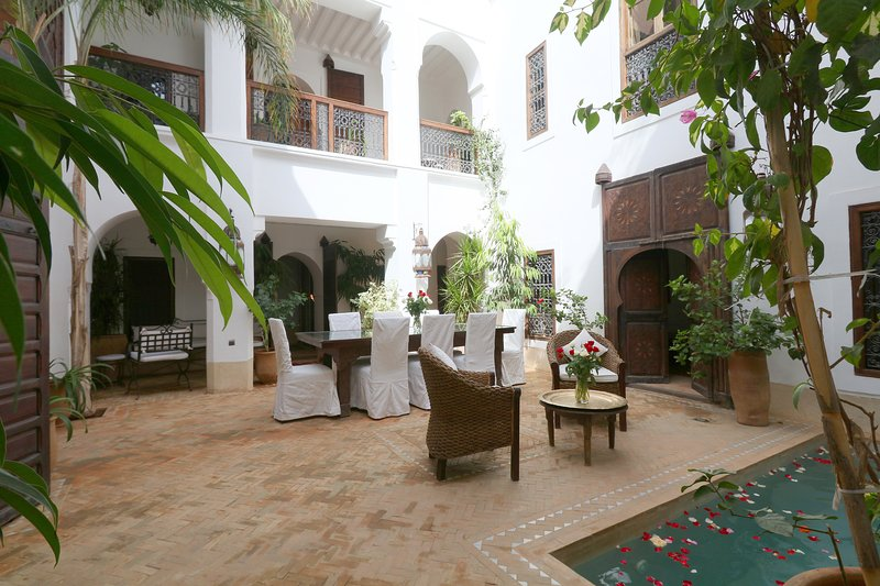 Dar Shariq luxury private rental wifi pool privacy, vacation rental in Marrakech