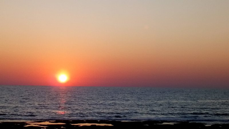 Enjoy a cocktail on the beach whilst watching the beautiful sunset over Paphos