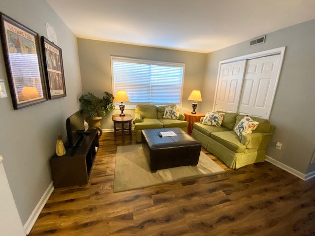 Comfy and Sparkling Clean Downtown Condo with Social Distancing Space, holiday rental in Raleigh