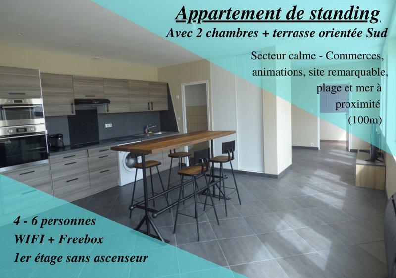 Appartement Plein Sud, vacation rental in Berck