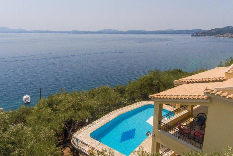 Villa Spyros, holiday rental in Nissaki