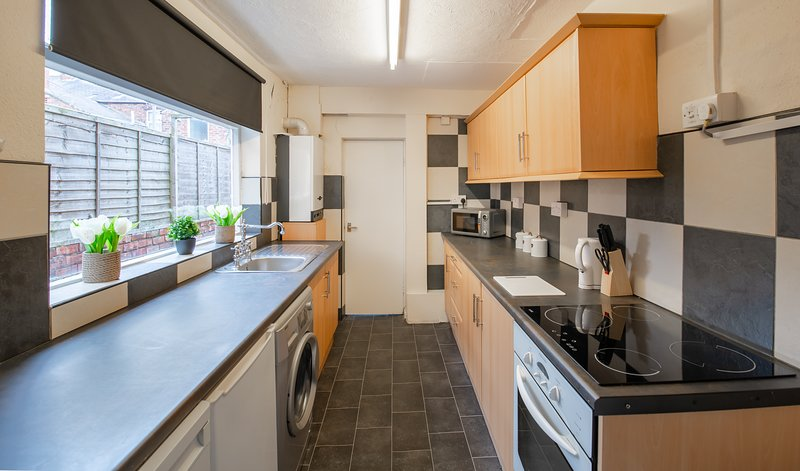 3 bedroom middlesbrough Town Centre Town House, casa vacanza a Stockton-on-Tees