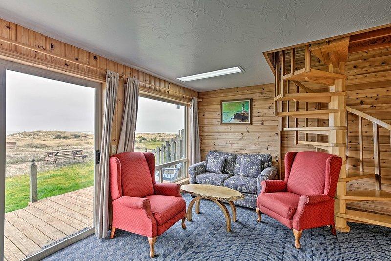 Sanderling Sea Cottages, Unit 3, holiday rental in Waldport