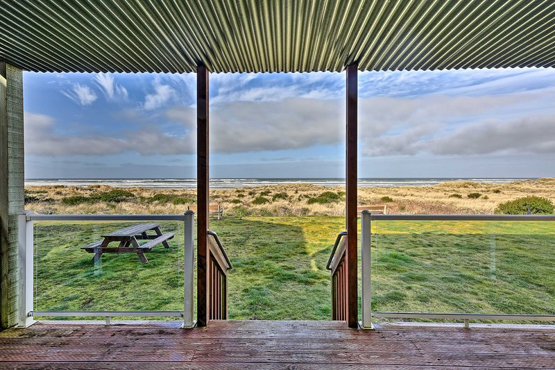 Sanderling Sea Cottages, Unit 10, holiday rental in Waldport