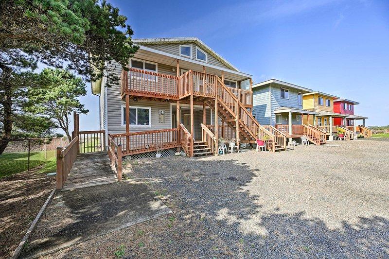 Sanderling Sea Cottages, Unit 14, holiday rental in Waldport