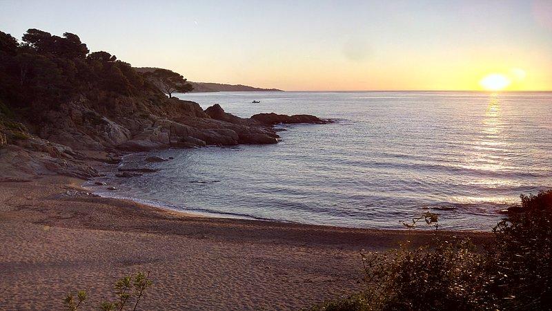 Fotografía de la playa en temporada baja. No es preciosa?