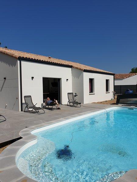 maison + piscine privée 2, aluguéis de temporada em Saint-Jean-de-Monts