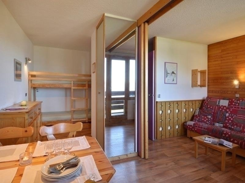 Beautiful divisible studio in the heart of the resort for 4 people Chalet in La Plagne