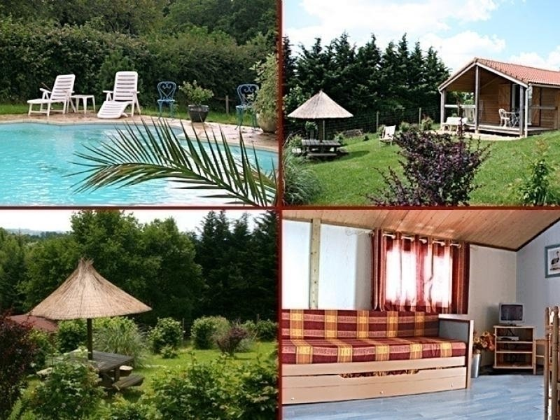 Chalets Les Estivales, holiday rental in Lapeyrouse