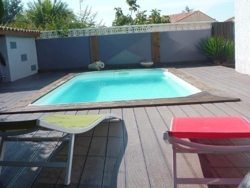 Belle villa pour 8 personnes avec piscine privée, wifi et clim, aluguéis de temporada em Florensac