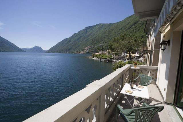 Lake Lugano 1 bedroom apartment, holiday rental in Albogasio-Oria
