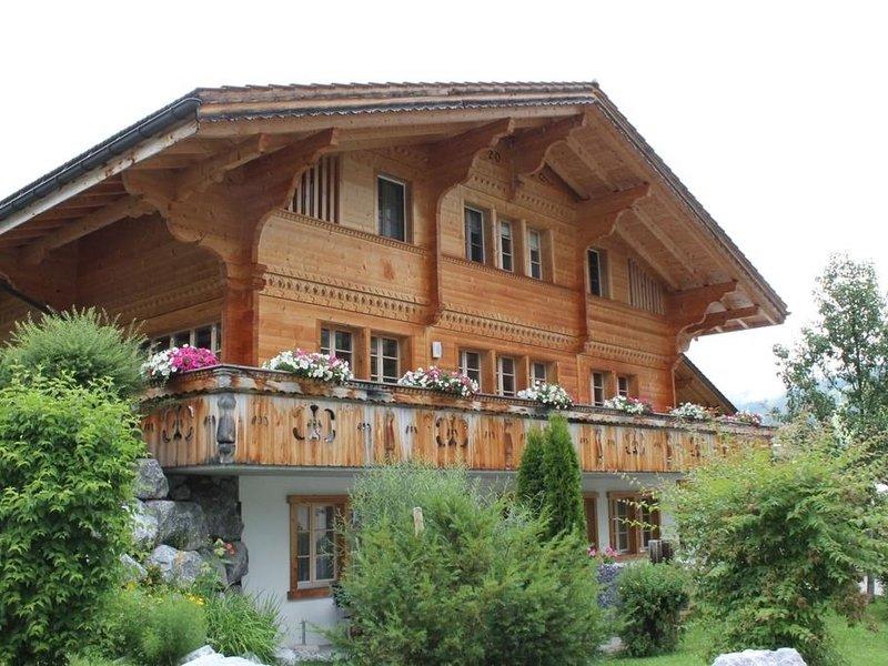 Rawilstrasse 33, vacation rental in Lenk im Simmental
