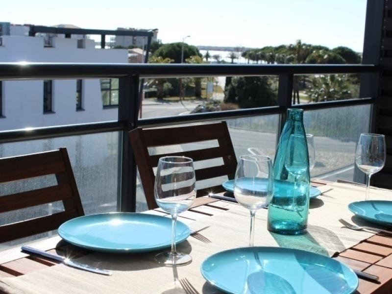 Appt 2 pièces 4 couchages GRUISSAN, vacation rental in Bages
