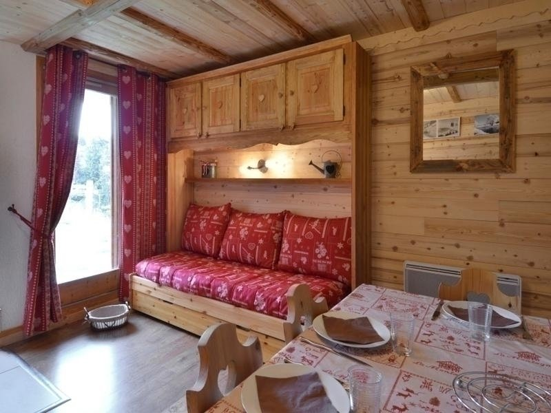 Studio recently renovated for 3/4 people of 25m², at the foot of the slopes Chalet in La Plagne