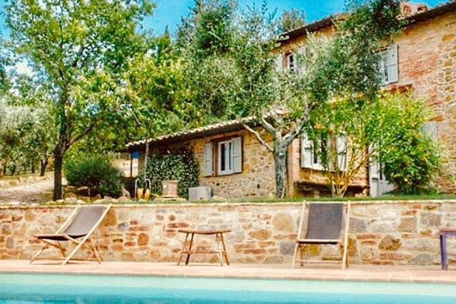 Fonte Cicerum: 5 bedroom villa in Umbria, holiday rental in Panicarola