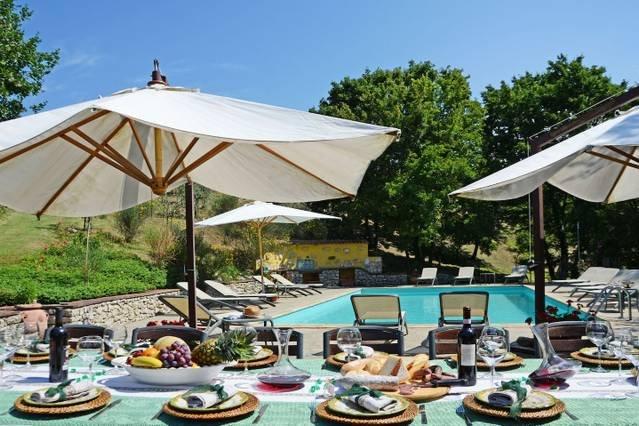 4 bedroom villa with pool. Short walk to Anghiari., holiday rental in Citerna