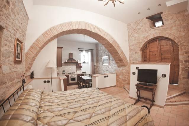 1 bedroom apartment central Spello, alquiler vacacional en Spello