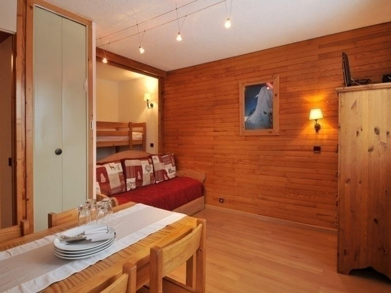 Studio at the foot of the slopes for 3/4 people of 22m² Chalet in La Plagne