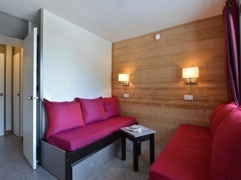 Studio divisible rénové pour 4 personnes de 28m² au pied des pistes, alquiler de vacaciones en Plagne Bellecote