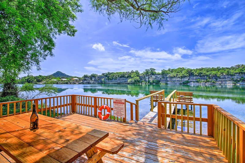 Escape to this beautiful vacation rental home in Camp Wood, TX!