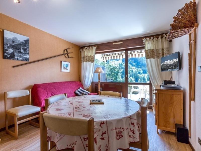 Départ des remontées de Balme et du Fernuy, vue montagne, garage, holiday rental in La Clusaz
