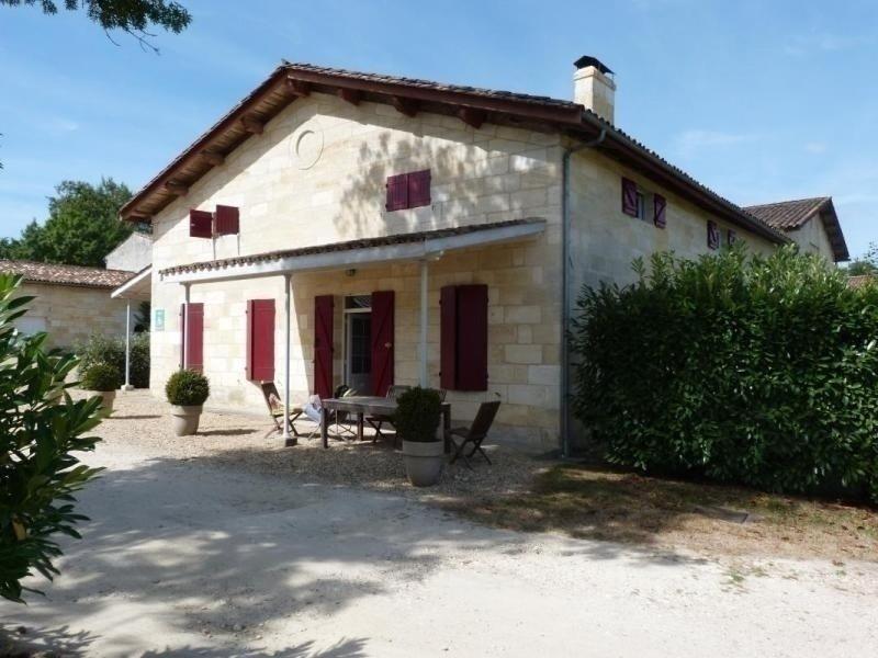 Château Malfard - Petit Verdot, vacation rental in Saint-Martin-du-Bois