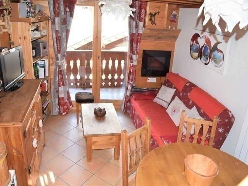 Bien decoré Duplex / Mezzanine avec balcon, alquiler de vacaciones en Pralognan-la-Vanoise