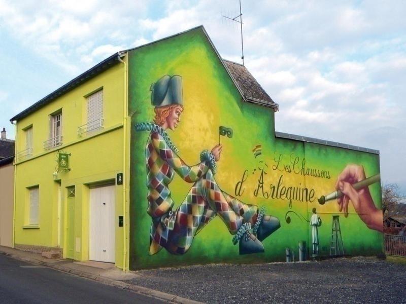 Les Chaussons d'Arlequine, location de vacances à Thiel-sur-Acolin
