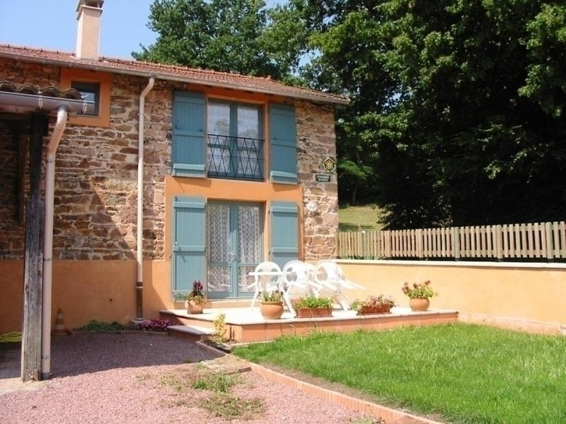La Vache sur le Toit : le gîte, holiday rental in Bourg-de-Thizy