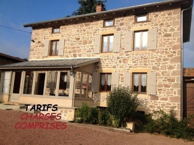 Le Noailly, holiday rental in Bourg-de-Thizy