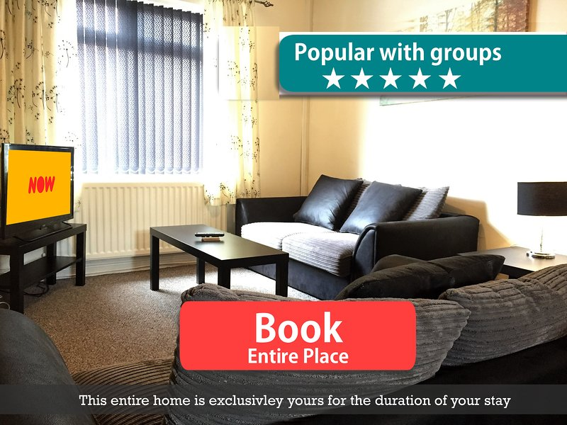 Cosy Victorian Terrace In Central Northwich Location, vakantiewoning in Hartford