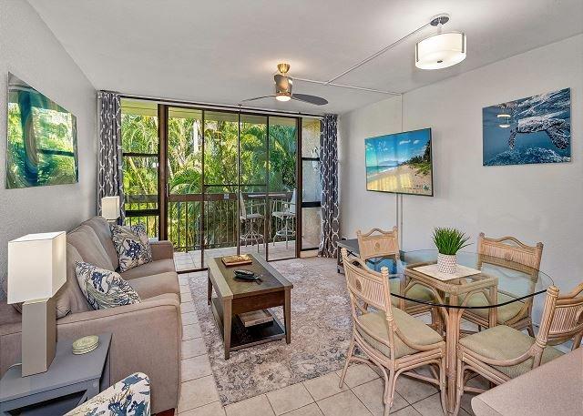 Clean and Bright Remodel with Lush Garden Views at Maui Vista, No Carpet, AC!, casa vacanza a Parco nazionale di Haleakala