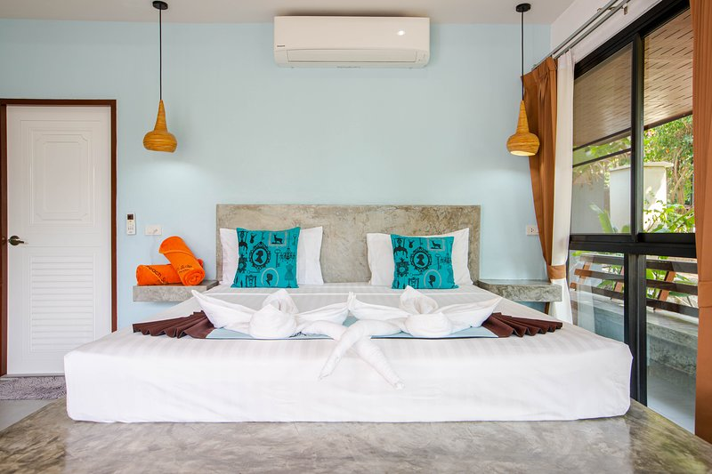 Beach suite seaview garden side, alquiler vacacional en Ban Thong Nai Pan