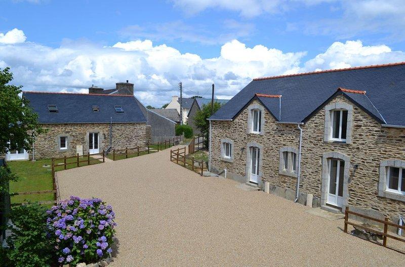 Anaya Cottages - Maison Shikoba - 2 chambres / 4 personnes centre Finistere – semesterbostad i Brennilis