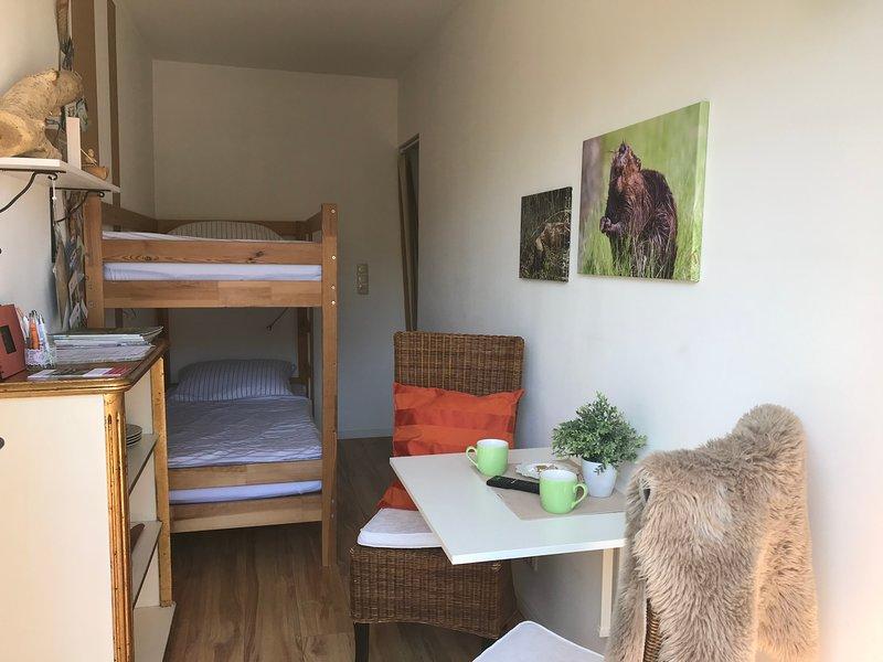 ELB NEST Biberzimmer Etagenbett, alquiler de vacaciones en Bleckede