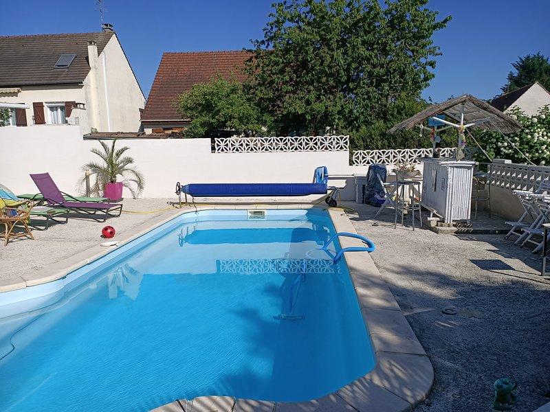 LE LOGIS DE PATY vous accueille, location de vacances à Marne-la-Vallée