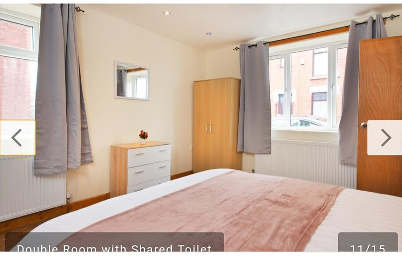 Lime House Double Room with Shared Bathroom, vacation rental in Ashton-under-Lyne