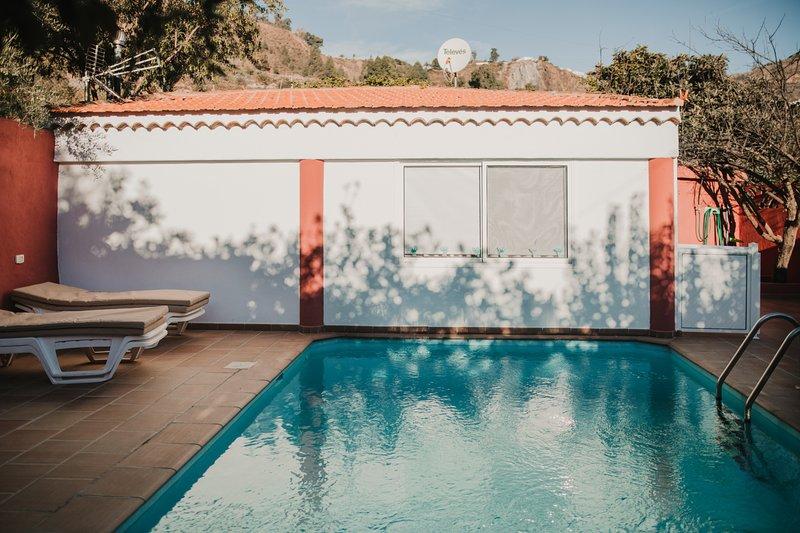 Casa rural con piscina en Hoya de Tunte 4, holiday rental in Ayacata