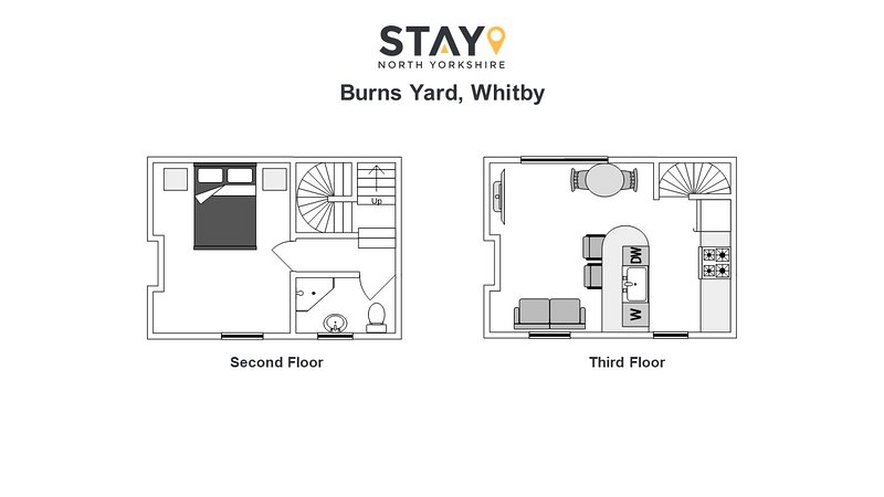 Burns Yard, Whitby - Stay North Yorkshire