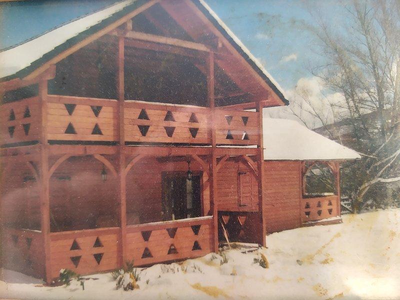 Casa de madera en la montaña central de León, vakantiewoning in Garrafe de Torio