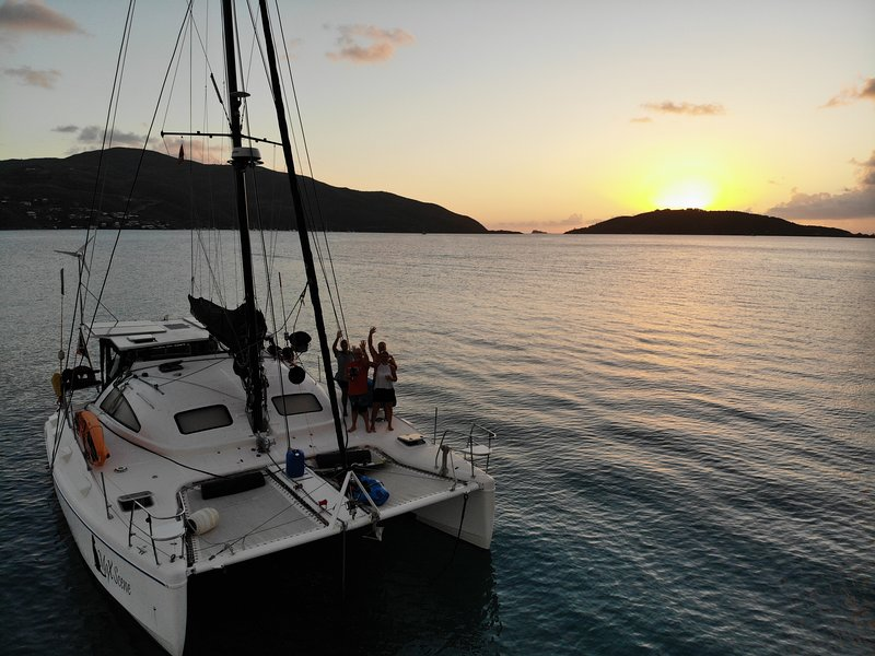 MaXScene 38 ft Catamaran Bequia, holiday rental in Port Elizabeth
