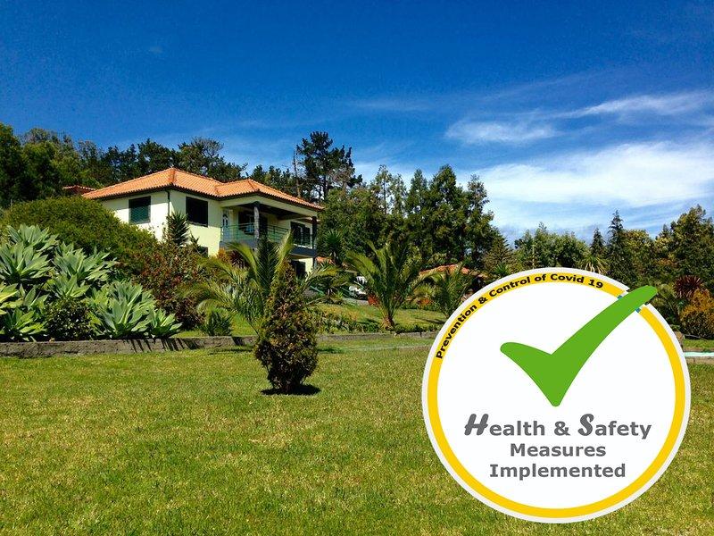 Madeira Holiday Villa.  Ideal for groups., casa vacanza a Santo Antonio da Serra