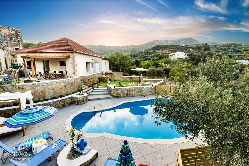 Zen Luxury Villa, Near To Elafonisi Beach, vakantiewoning in Elafonissi