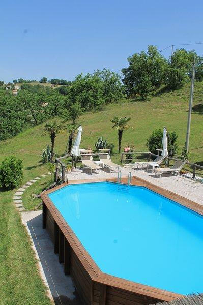 Casa vacanza le varangole, holiday rental in Montefortino
