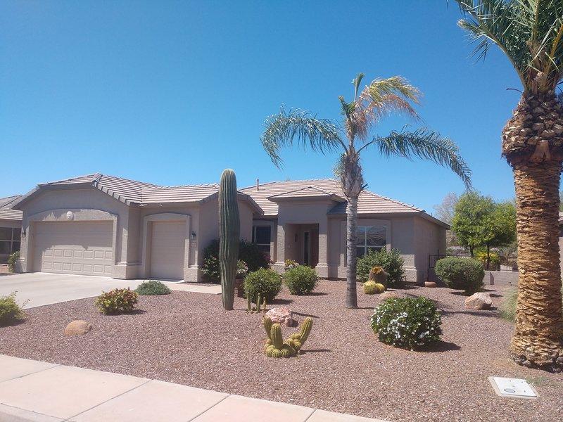 Retirement vacation rental on golf course in AZ, alquiler vacacional en Chandler