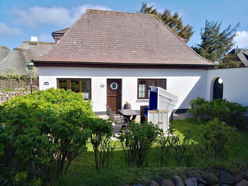 FeWo für 2-3 Personen in Wenningstedt/Sylt , strandnah und ruhig gelegen., location de vacances à Wenningstedt