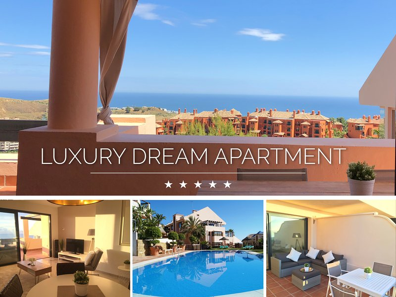 ⭐ LUXURY APARTMENT   SUPERB SEA & SUNRISE VIEWS, vacation rental in Mijas