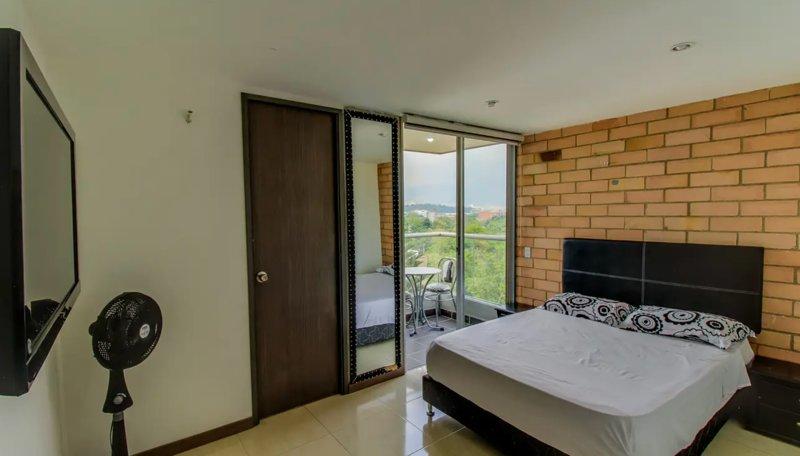 Acogedor Apartamento El Poblado 602 Wifi, Balcon, vacation rental in Itagui